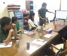 介護事業経営Y様(経営計画発表会の様子)
